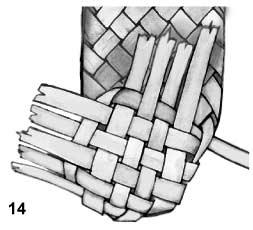 Плетем лапти из газетных трубочек (14) (253x230, 30Kb)