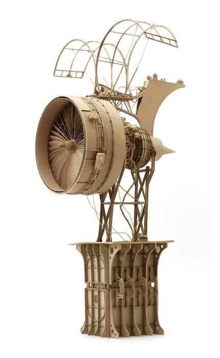 стим-панк скульптуры The Principles of Aerodynamics 2 (430x700, 191Kb)