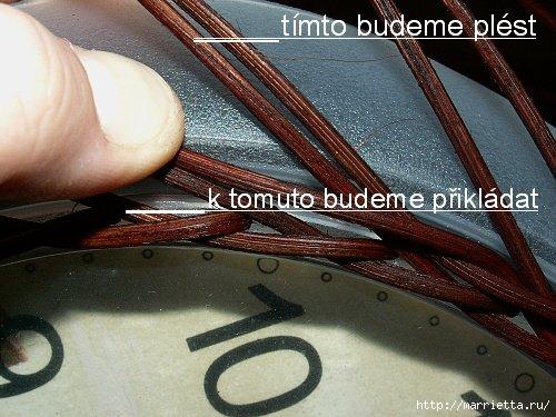 плетение-часы из газетных трубочек (1) (500x375, 194Kb)