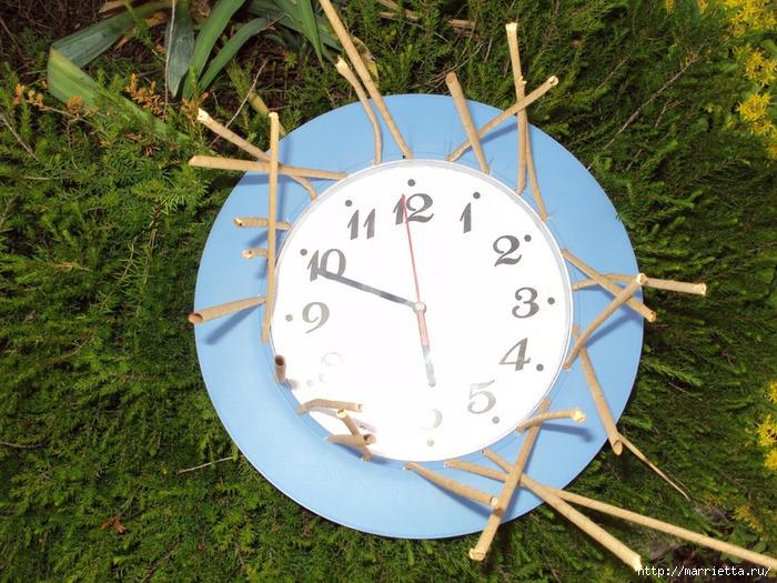 плетение-часы из газетных трубочек (13) (700x525, 488Kb)