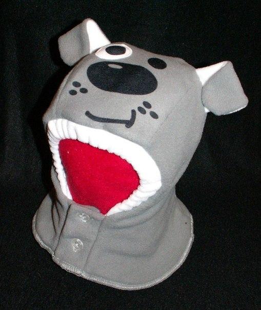 Шапка шлем для мальчика из флиса своими руками 44