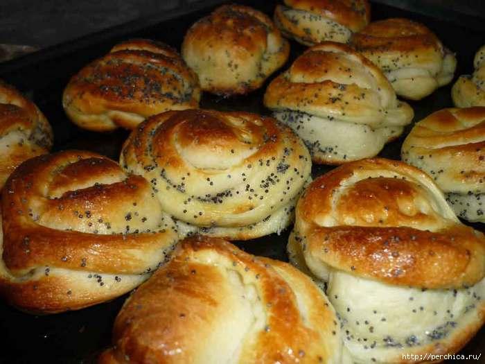 Домашние булочки рецепт с фото готовим