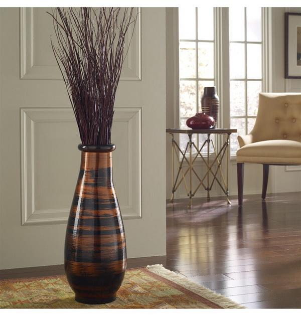 Напольные вазы для цветов высокие