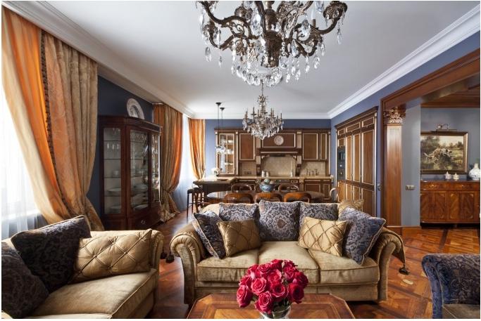 дизайн дома в классическом стиле, классика интерьер фото, дизайн интерьера классика, дизайн интерьера классика дизайнер, /3978851_05 (683x457, 267Kb)