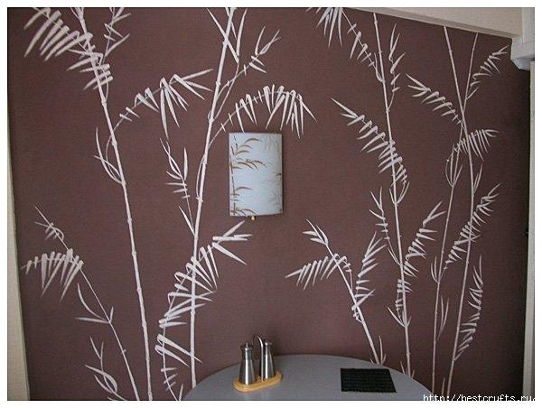 Роспись стен на кухне своими руками (9) (600x452, 145Kb)
