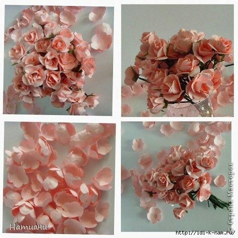 как сделать цветы из бумаги, как сделать розы из бумаги, как сделать розочки из бумаги, делаем бумажные розочки,