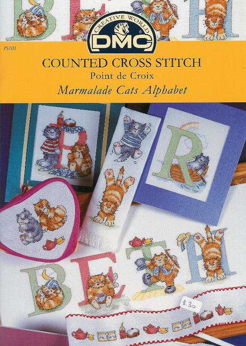 DMC P5101 marmalade cats