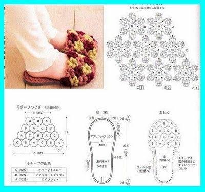 钩花拖鞋 地板鞋 - qiuhongmei03 - qiuhongmei03的博客