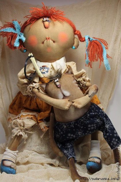 Куклы примитивные своими руками