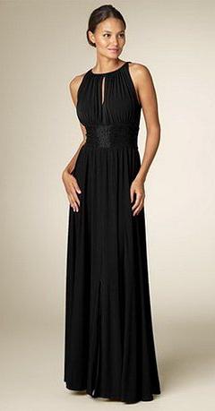 Платье двумя швами выкройка