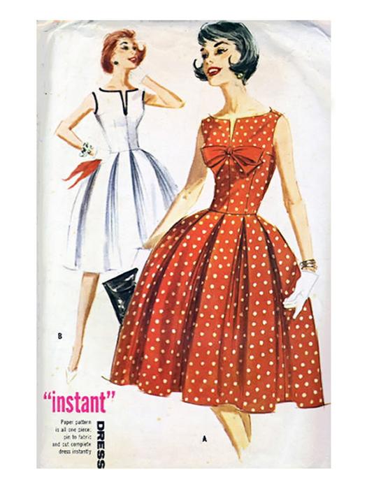 Платья в стиле нью лук изоражения