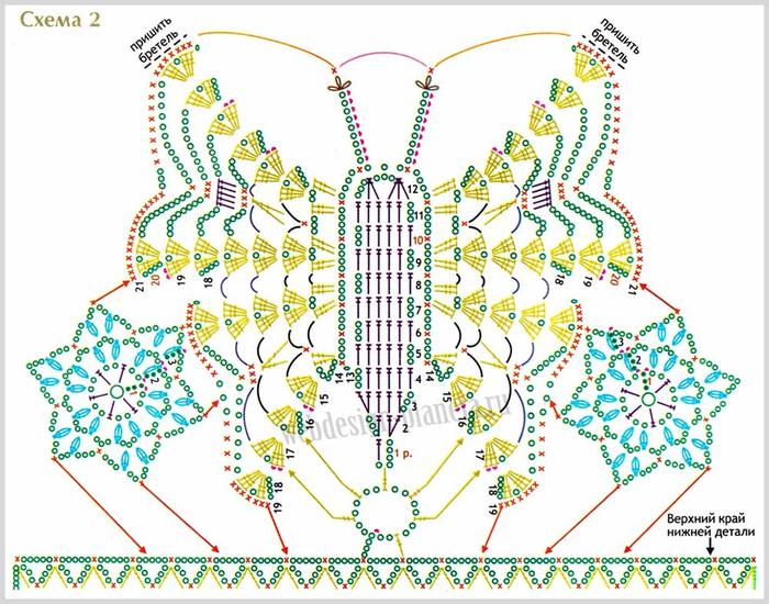 temno-sirenevyj-top-kryuchkom-s-uzorom-babochka-shema-2 (700x550, 449Kb)