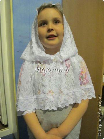 Пасхальный платок для храма как сшить для девочки,