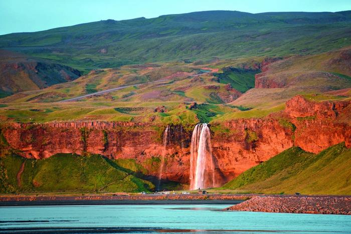 Водопад Селйяландсфосс фото 1 (700x467, 457Kb)