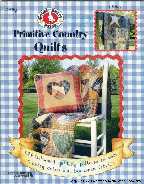 PRIMITIVE COUNTRY QUILTS (501x640, 226Kb)