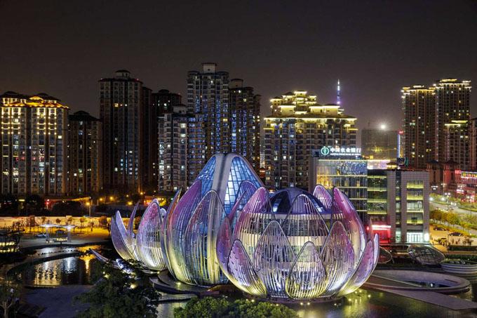 выставочный центр лотос в китае 2 (680x453, 322Kb)
