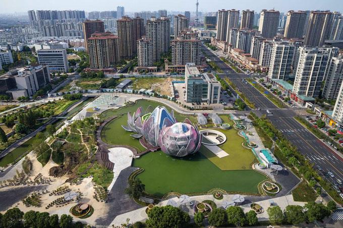 выставочный центр лотос в китае 8 (680x452, 389Kb)