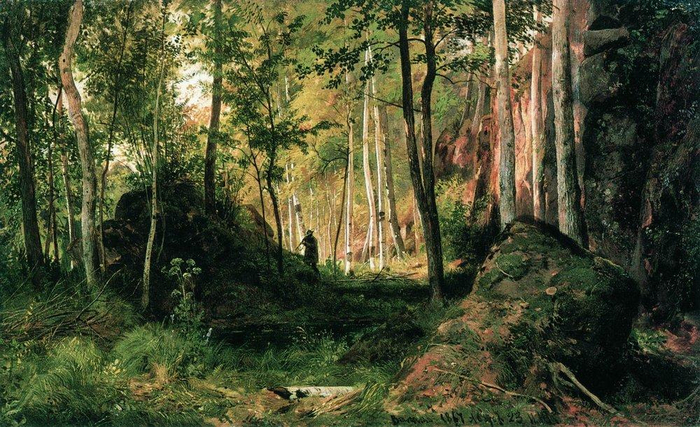 landscape-with-a-hunter-valaam-island-1867 (700x427, 441Kb)