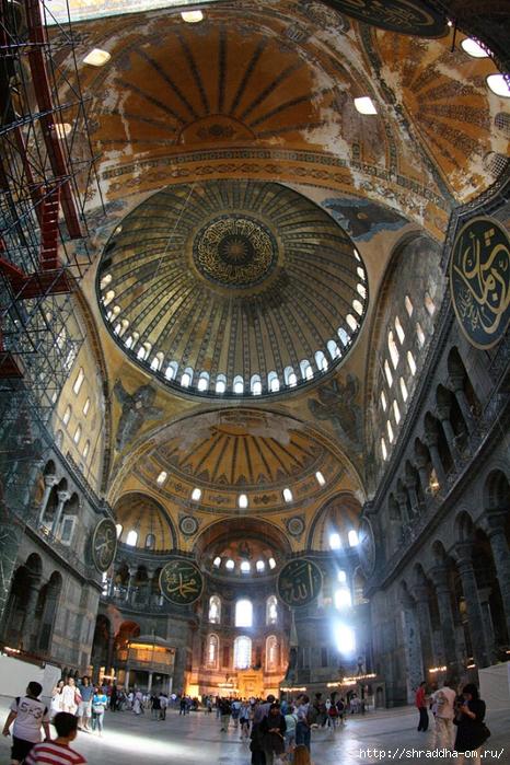 Собор Святой Софии Стамбул Hagia Sophia Istanbul Shkondin (2) (466x700, 362Kb)