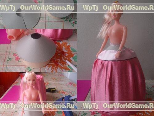 Изготовление куклы шкатулки