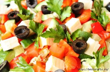 Топ-3 салатов без майонеза