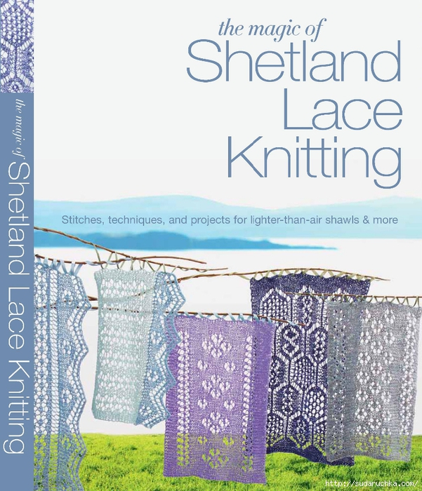 The Magic of Shetland Lace Knitting_1 (601x700, 333Kb)