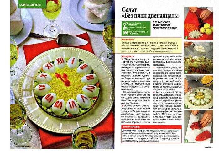 кулинарные рецепты с фотографиями 2010 салаты