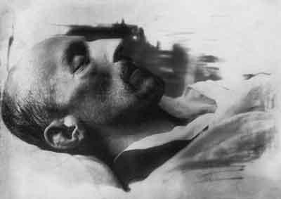 Александр Блок на смертном одре (400x283, 6Kb)