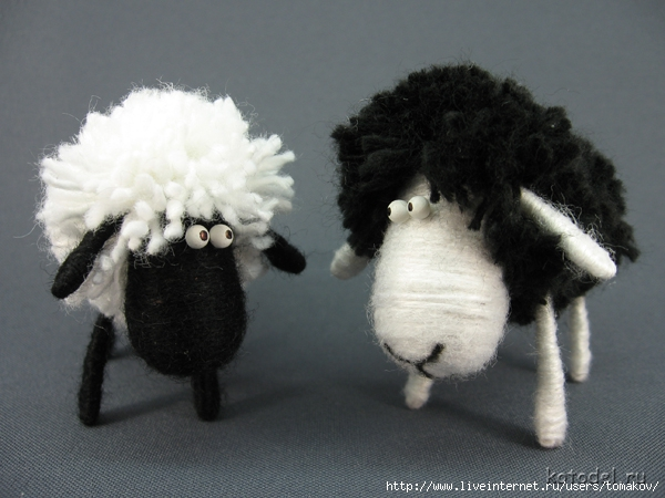 Сделаем овечку