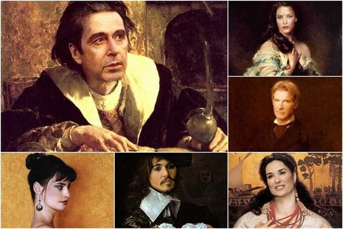 Современники на старинных портретах