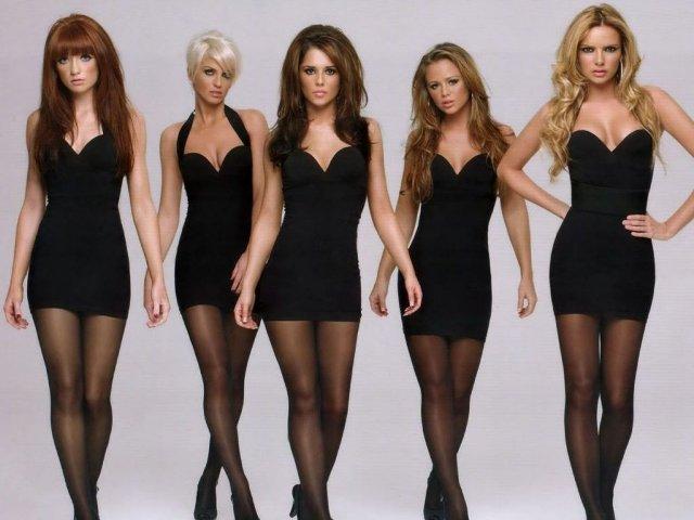 Фото девушек в платьях и телесных колготках 5 фотография