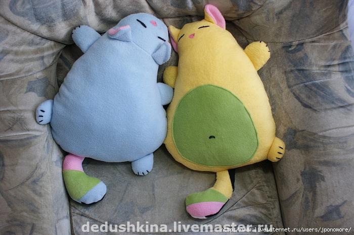 Мягкие игрушки своими руками подушки