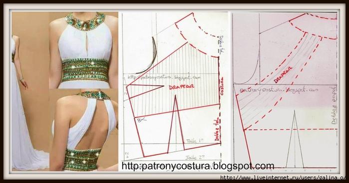 PicMonkey Collage.jpg vestido drapeado verde (700x367, 182Kb)