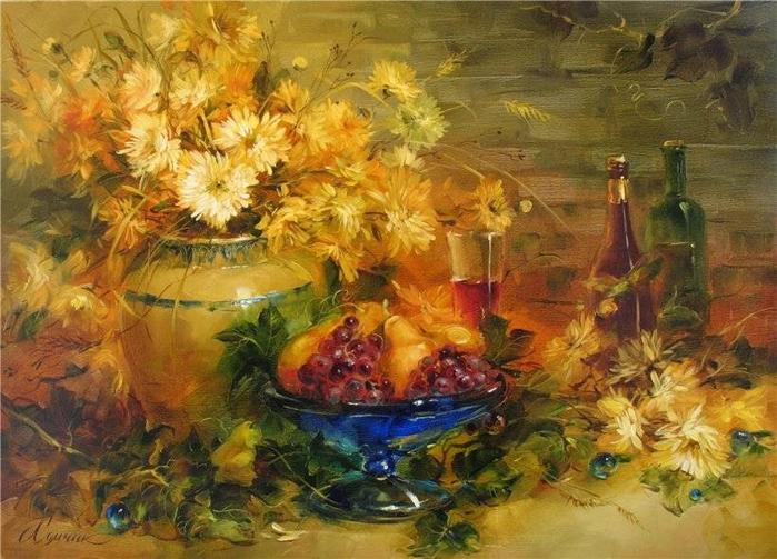 украинская художница анна хомчик картины 11 (700x503, 422Kb)
