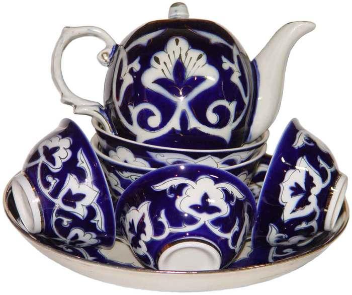 Набор пиал для чая восточный узор
