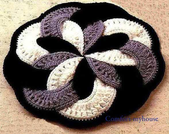 красивый японский коврик,