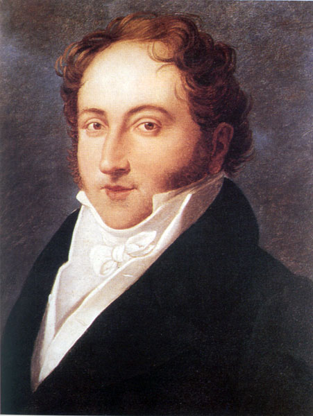 Джоаккино Россини (Gioachino Rossini). Родился в семье музыкантов  - отец был трубачом, мать — певицей (451x600, 58Kb)