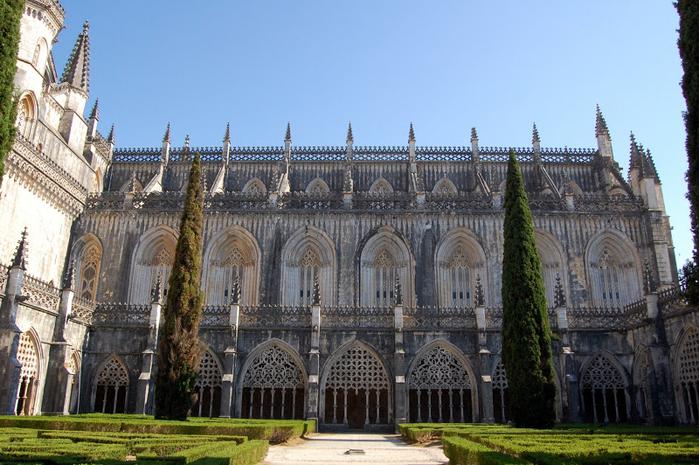 Монастырь Баталья португалия фото 5 (700x465, 399Kb)