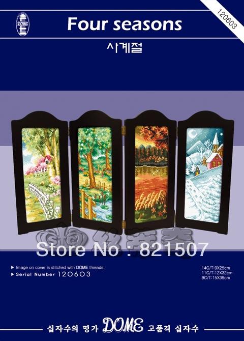Home-decor-hand-embroidery-cross-stitch-kit-Four-seasons-stitch (480x670, 255Kb)