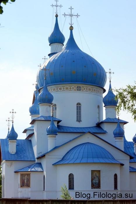 Вид Церкви Рождества Христова в Петербурге