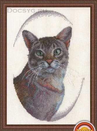 Золотое руно вышивка крестом коты