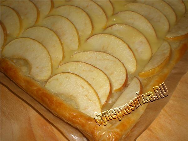 Как сделать тесто для яблочного пирога