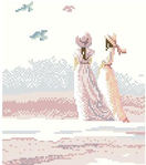 Превью Lanarte 3363 Girls and birds (305x345, 64Kb)