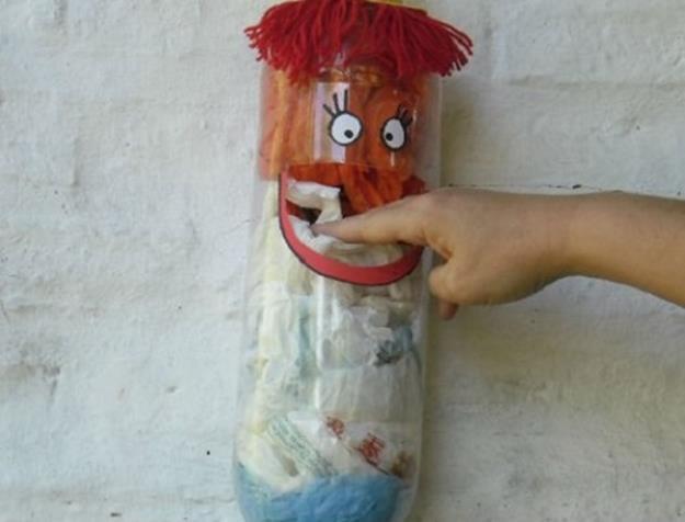 Подхалим. Поделки из пластиковых бутылок