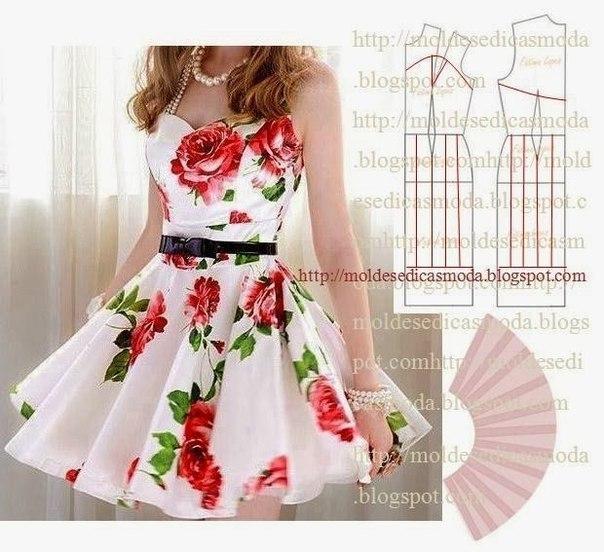 платье выкройка4 (604x552, 261Kb)