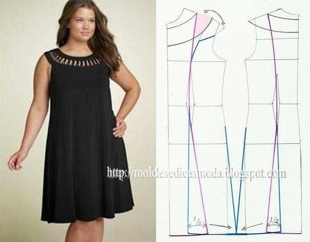 платье выкройка6 (604x471, 137Kb)