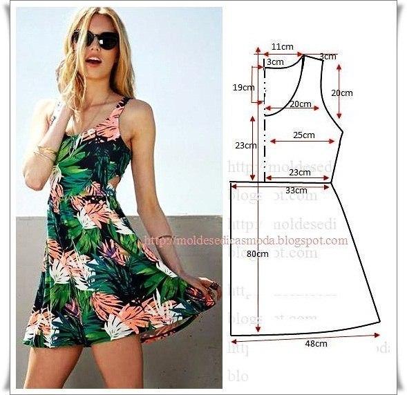 платье выкройка13 (589x572, 253Kb)
