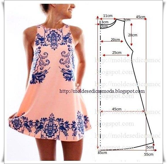 платье выкройка15 (579x569, 234Kb)