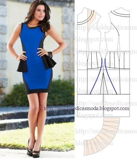 платье выкройка21 (474x556, 169Kb)