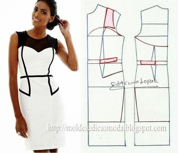 платье выкройка23 (604x518, 134Kb)